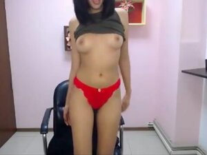Indian babe is back with hot tits and lips