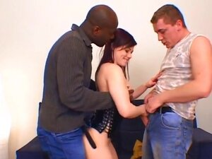RawVidz Video: Brunette Fucked By Huge Black Toy,