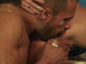 Big tit brunette chef Brandy Aniston loves sloppy