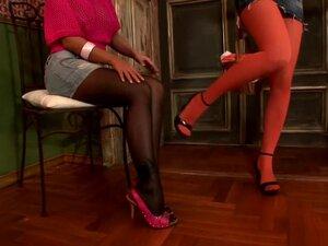 Amazing pornstars Black Angelica and Bianca Golden