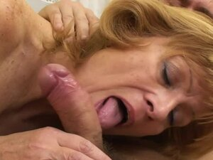 MomsWithBoys - Mature Blonde Granny Enjoys Young