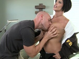 This big tited FBI agent Shay Fox, can't do her