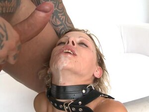 Alluring tattooed babe was humiliated in her