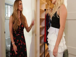 Kylie obediently goes back to her room to change