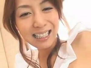 Busty Japanese slut gets crammed and facialized