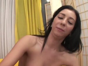 Hottest pornstar in horny interracial, brunette