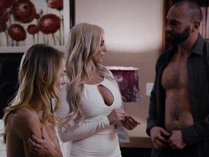 Big Tits Milf Fucks a Hot Stepdaughter