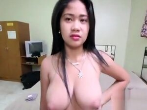 Talented asian angel sucks a schlong and grinds on