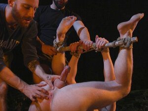 Damien Moreau in New Camper Gets Edged At Camp