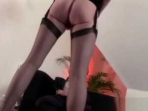Watch amateur mature bitch in stockings,