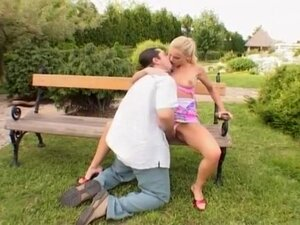 Sexy Blonde Gets Her Asshole Stretched