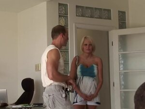 Horny swingers with hot ass riding massive dick