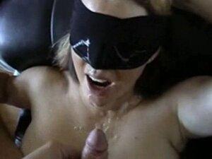 Masked Girl Gets A Facial