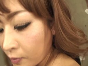 Erotic asian pussy shaving and anal sex
