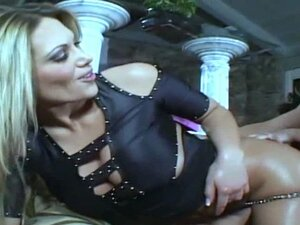 Here is Anna Nova getting and giving some double
