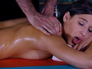 Adrian Maya and Abella Danger in a Massage