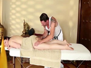 Great massage room with fluent babes