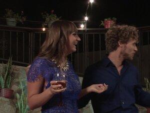 Romantic penetration session for lovely brunette