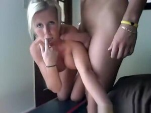 Busty Blonde Fuck And Cum On Tits, Busty blonde