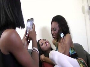 BFFs - Interracial Groupsex with three lovely