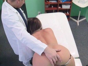 Big booty and tits patient fucked in fake