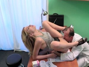 Double cumshot for lucky doctor