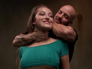 Unhappy Slut in Dungeonsex Video, Dani Daniels is
