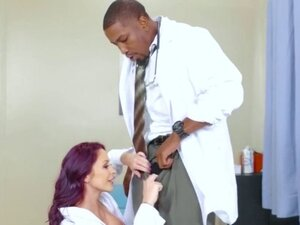 Monique and Ivy shred black dicks Doctor