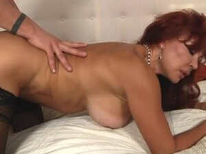 Spicy mature redhead vanessa bella having a