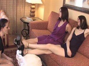 Lesbo foot worship - Headmistress Arella and