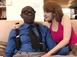 Redhead stepdaughter interracially plowed