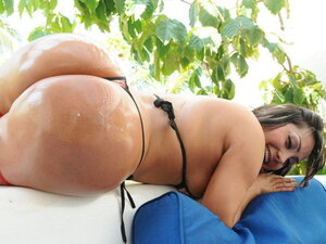 Huge Latina ass to play with and fuck over