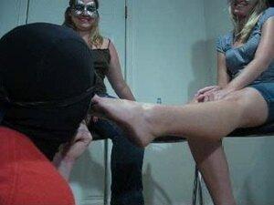 Slave lick 2 mistress dirty foot