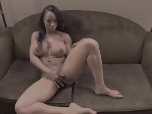 Black Bitch Gets A Dose Of White Cock, That black