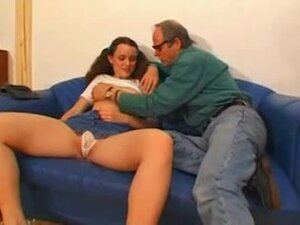 Old Fun, Old man gives beautifulgirl some lessons!
