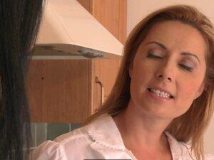 Lesbea HD Busty milf house wife cheating on