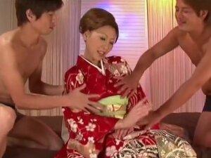 Jun Kusanagi in Sperma Queen, If you have been