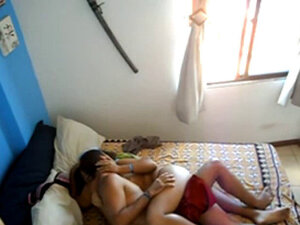 Indian Young Couple Sensual Fuck Caught By Spycam
