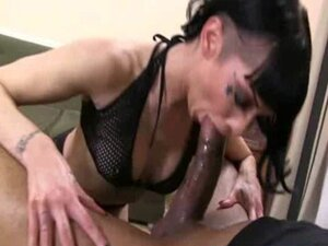Black dude rides a nasty blonde chick 7