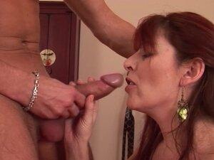 Redhead MILF Enojoying Boyfriend's Cock