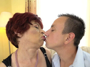 Redhead pensioner drilled