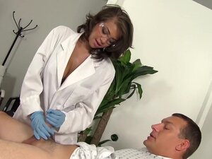 Sexy Nurse Cassidy Banks Helps Man Who Took