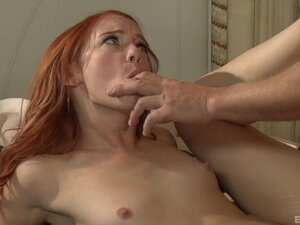 Ginger Dani Jensen missionary fucked while getting