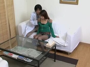 Free voyeur movie with japanese broad drilled at