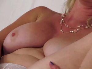 Hot blonde mature,