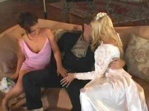 Horny wild wedding night Michelle Katz and Isabel