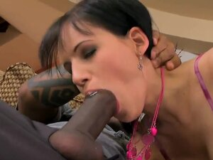 Amanda has always wanted to try a black cock, and