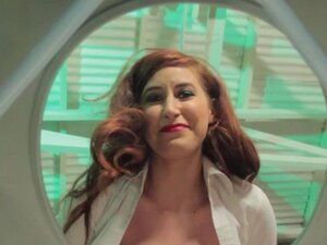 Redhead femdom pissed off at piss thirsty sub