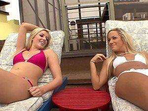 Blonde Vixens Kylee Reese and Kara Novak Share a