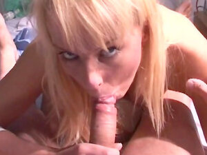 Diana Gold is riding on the old but horny dick of